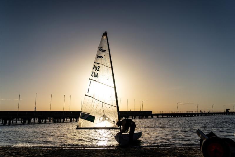 Jake Lilley (QLD) - 2018 Sail Melbourne International, Day 3 - photo © Beau Outteridge