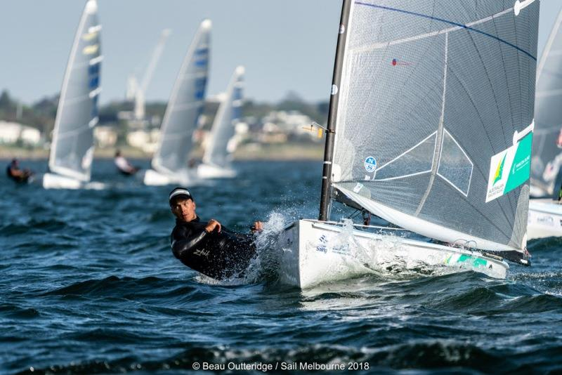 The defending champion at the nationals will be Rio 2016 Olympian Jake Lilley - photo © Beau Outteridge / Sail Melbourne 2018