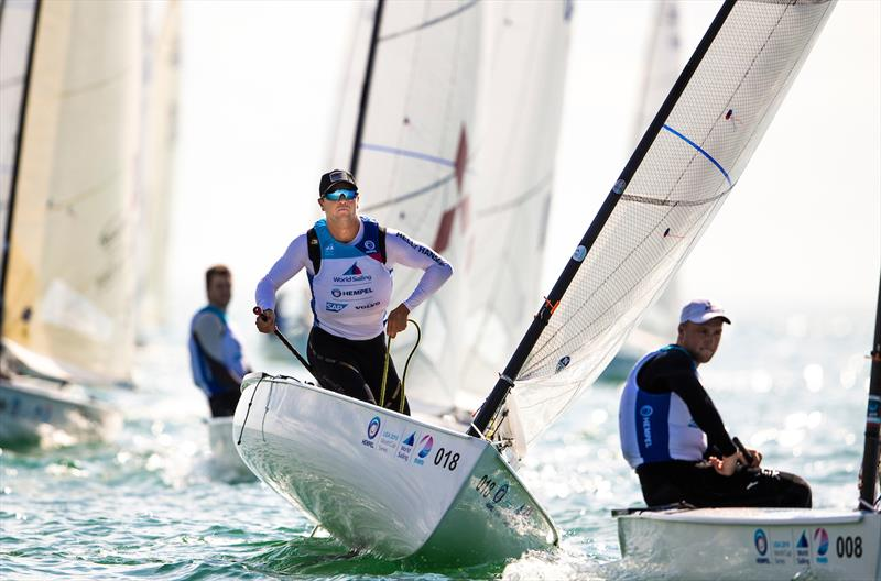 Luke Muller - 2019 Hempel World Cup Series Miami - photo © Pedro Martinez / Sailing Energy / World Sailing