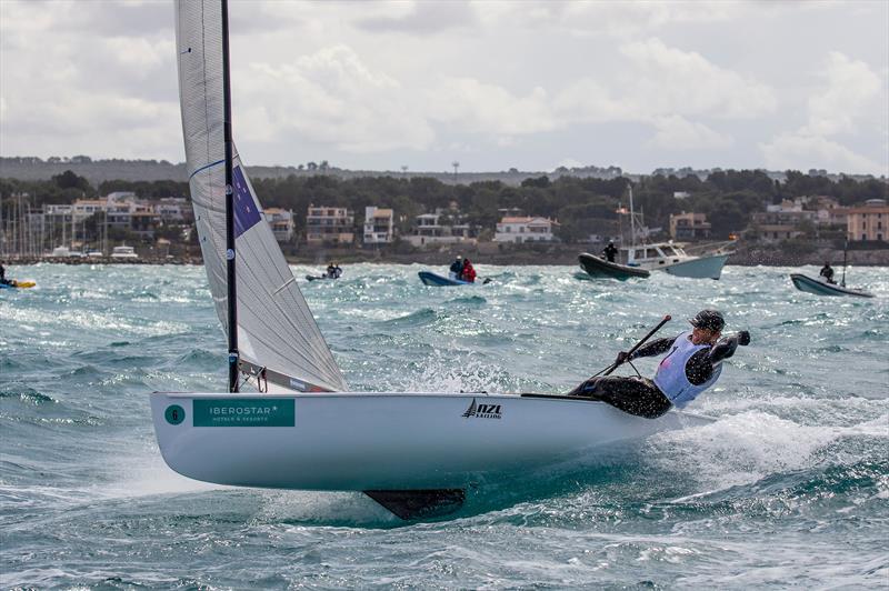 Andy Maloney - Finn - NZL Sailing Team - Trofeo Princesa Sofia Iberostar - Day 6- April 6, 2019 - photo © Sailing Energy