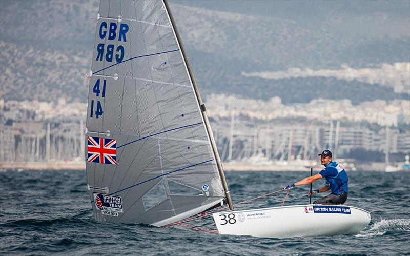 Giles Scott - 2019 Finn Open European Championship photo copyright Robert Deaves taken at  and featuring the Finn class