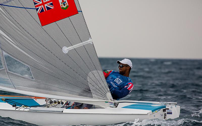 Rockal Evans - 2019 Finn Open European Championship - photo © Robert Deaves