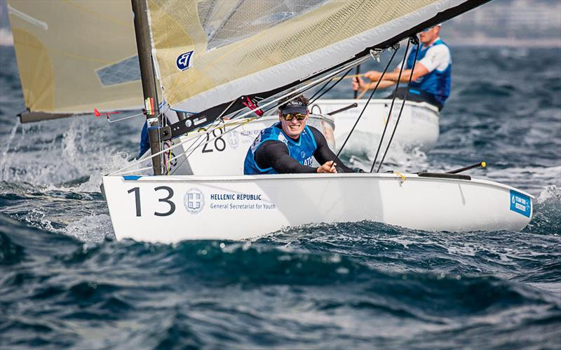 Jonathan Lobert - 2019 Finn Open European Championship - photo © Robert Deaves