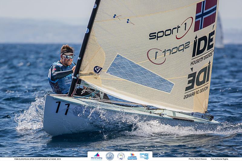 Anders Pedersen - 2019 Finn Open European Championship - photo © Robert Deaves / Finn Class