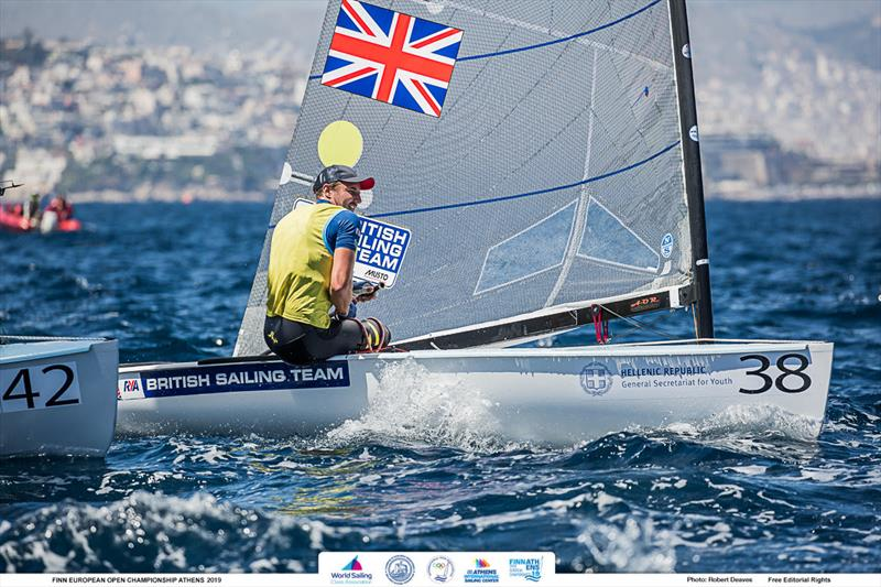 Giles Scott - 2019 Finn Open European Championship - photo © Robert Deaves / Finn Class