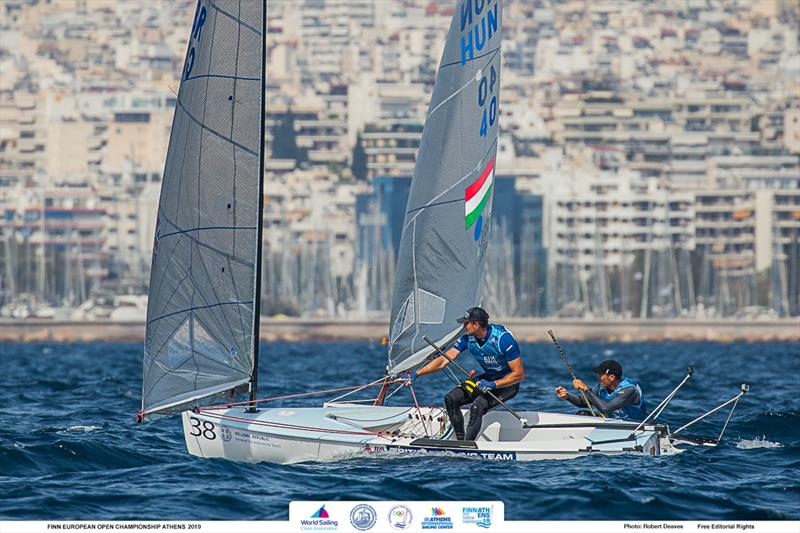 Finn Open European Championship at Hellenic Sailing Federation, Athens - Overall