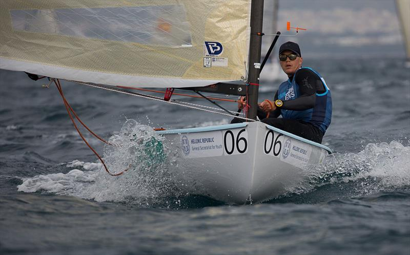 Finn European Championships wrap up in Athens