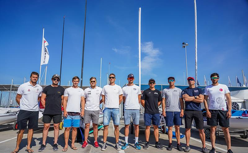 Medal Racers - Day 6 - European Finn Championships - Athens International Sailing Centre - May 2019 - photo © Beau Outteridge