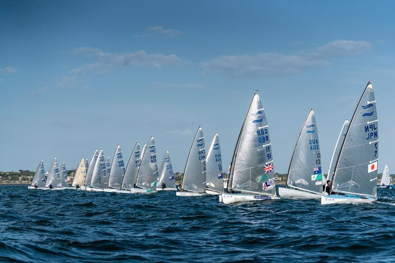 2019 Finn Gold Cup photo copyright Beau Outteridge taken at Royal Brighton Yacht Club and featuring the Finn class