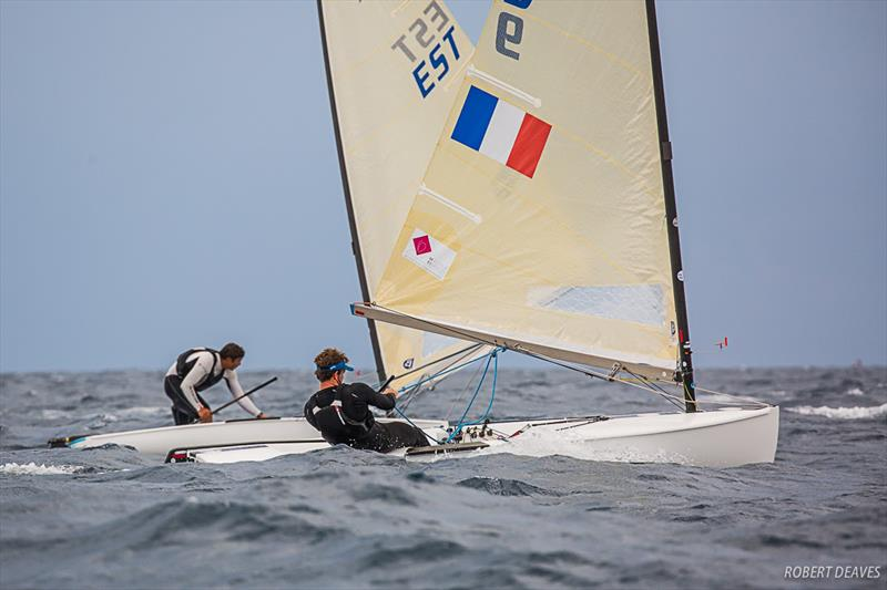 Guillaume Bosiard from France just won the French Nationals and is world No. 47 - Finn Silver Cup - photo © Robert Deaves