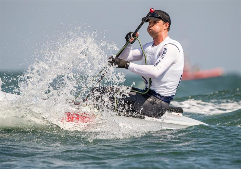 Luke Muller - Ready Steady Tokyo-Sailing, Day 1 - photo © Jesus Renedo / Sailing Energy / World Sailing
