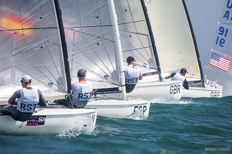 Ready Steady Tokyo - Olympic Test Event photo copyright Robert Deaves taken at  and featuring the Finn class