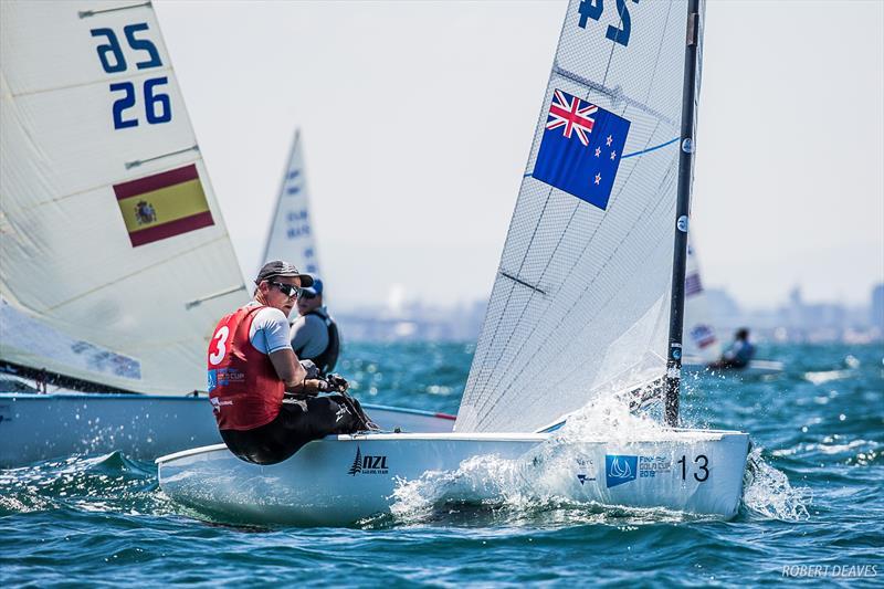 Josh Junior (NZL) - Day 1, Finn Gold Cup, Melbourne, December 16, 2019 - photo © Robert Deaves / Finn Class