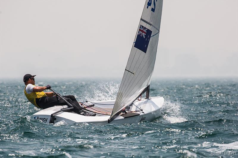 Josh Junior (NZL) - Day 5, Finn Gold Cup, Melbourne, December 20, 2019 - photo © Robert Deaves / Finn Class