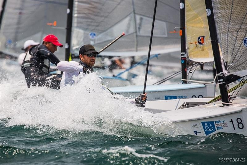 US Sailing Team Finn athlete, Luke Muller at the 2019 Finn Gold Cup - photo © Robert Deaves