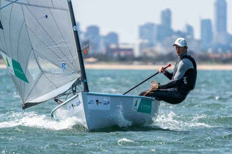 Jake Lilley - 2020 Sail Melbourne International, day 1 - photo © Beau Outteridge