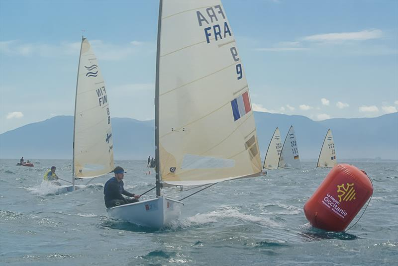 Guillaume Boisard on day 5 of the 2020 Finn Silver Cup - photo © Marie Bernoit