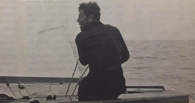 Jack Knights (GBR) was a fierce competitor in the Finn and only just missed out on an Olympic place in 1956 - photo © IFA