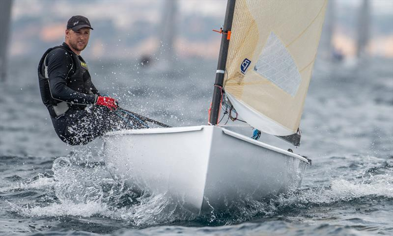 Ondrej Teply, CZE - 2021 Open and U23 Finn European Championship - photo © Joao Costa Ferreira