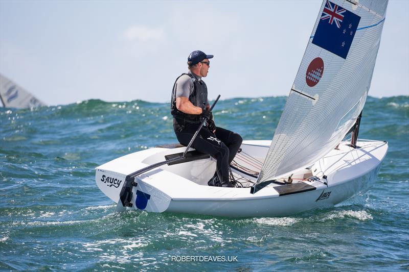 Josh Junior (NZL) - Finn Gold Cup - Porto, Portugal - May 2021 - photo © Robert Deaves / Finn Class