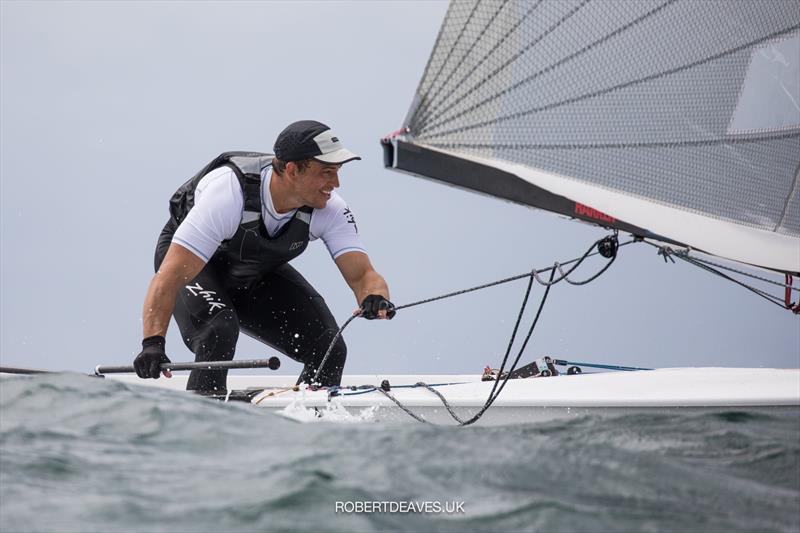 Andy Maloney (NZL) - Finn Gold Cup - Porto, Portugal - May 2021 - photo © Robert Deaves / Finn Class