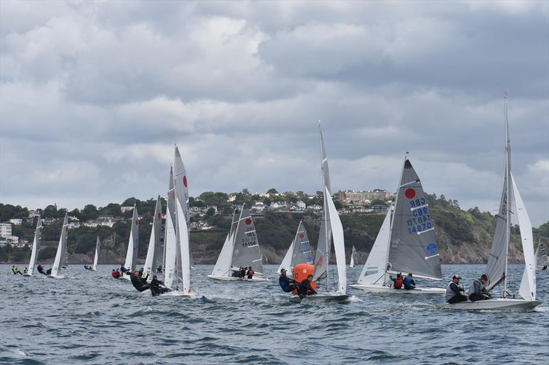 Gul Fireball Nationals at Torbay day 3 - photo © Tanya Hutchings