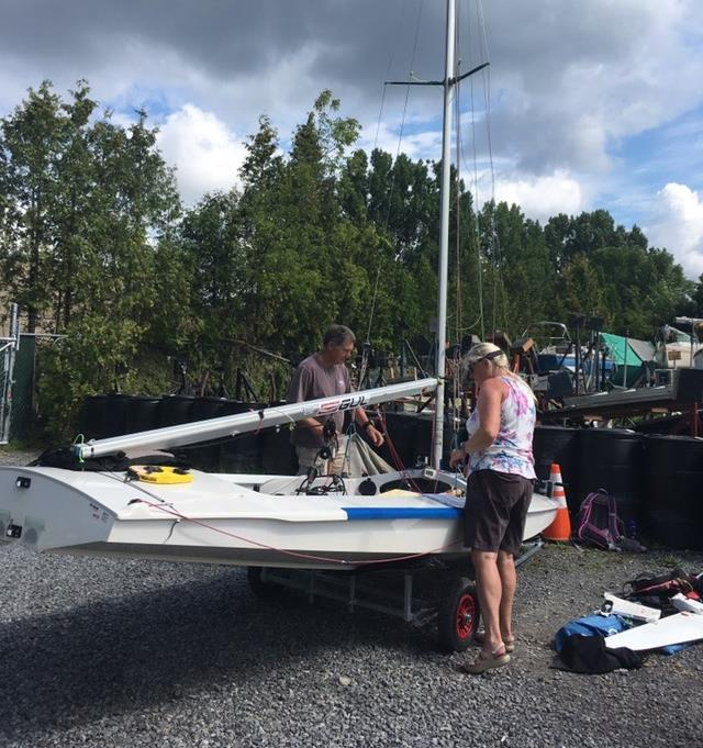 Fireball North American Championships at Pointe Claire Yacht Club - Day 1