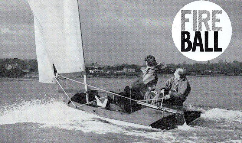 An early promotional pamphlet from Chippendale boats featured this superb photo of the prototype Fireball during an early outing at Hamble - photo © Eileen Ramsay / Chippendale