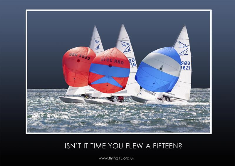 Flying Fifteens at the RYA Dinghy Show