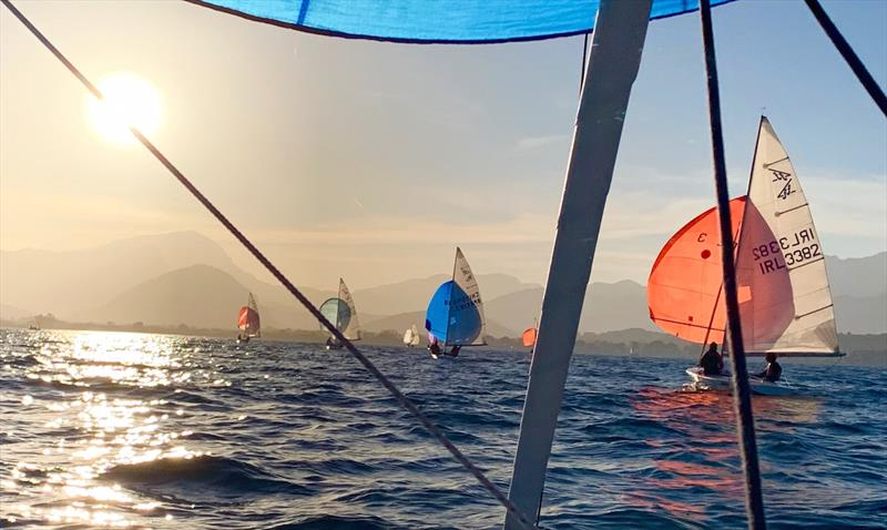 Flying Fifteen Balearic Championship 2021 photo copyright Hamish Goddard taken at  and featuring the Flying Fifteen class