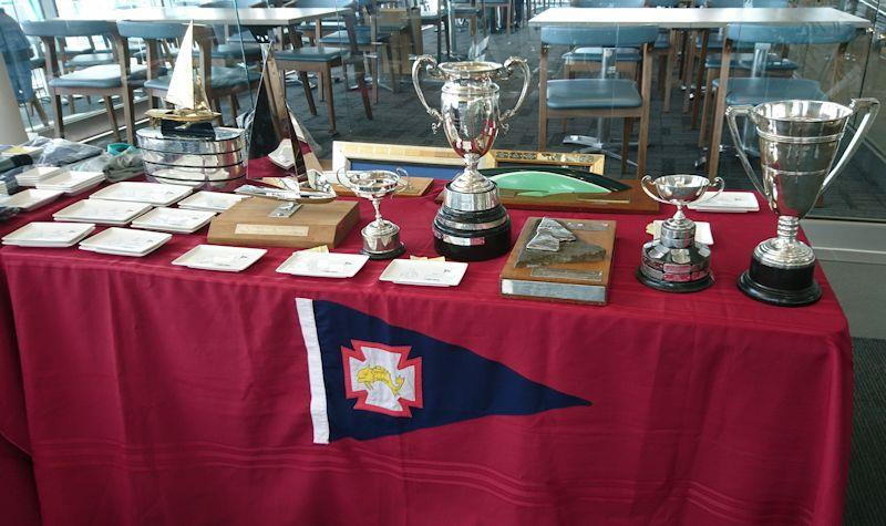 Trophies at the Flying Fifteen National Championships - photo © Christina Moncur