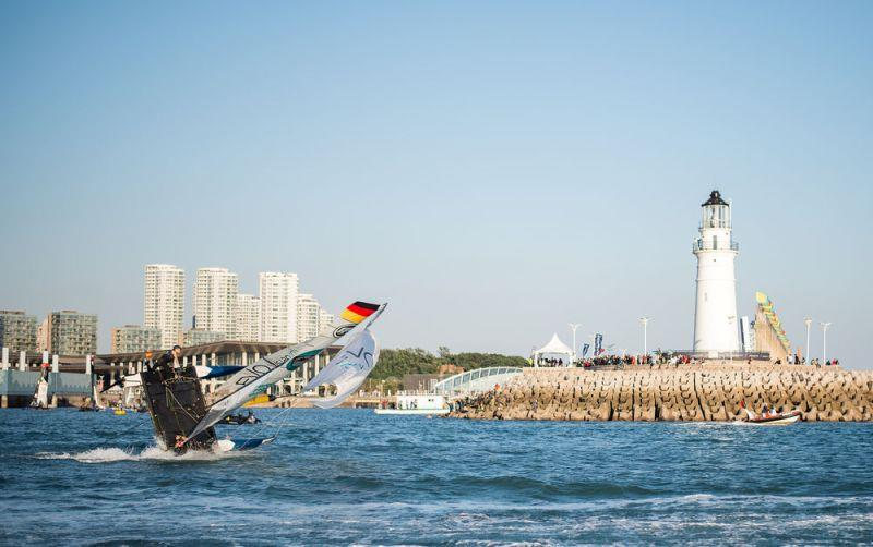 Day two - EVO Visian ICL - 2018 Qingdao Mazarin Cup powered by Extreme Sailing Series™ - photo © Patrick Condy