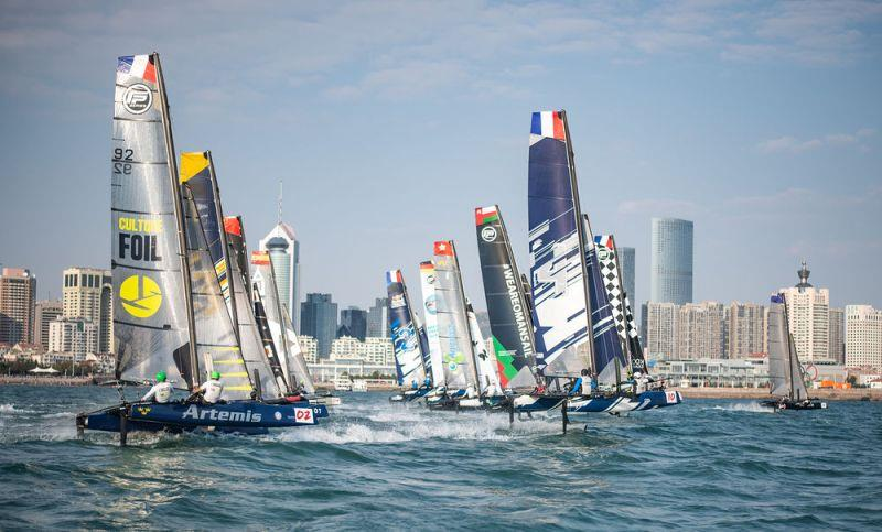 Day 3 - Extreme Sailing Series Qingdao Mazarin Cup 2018 - photo © Patrick Condy