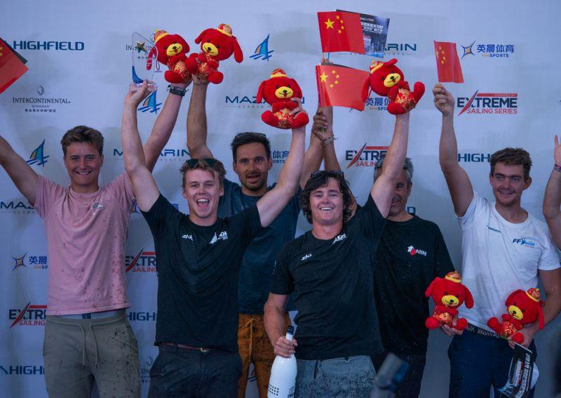 Day 4 - Extreme Sailing Series Qingdao Mazarin Cup - photo © Patrick Condy