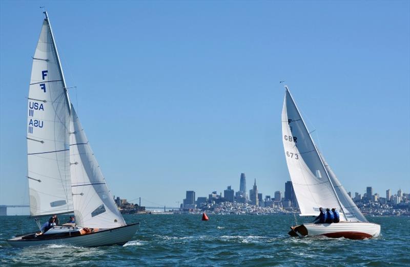 Folkboat International Cup in San Francisco