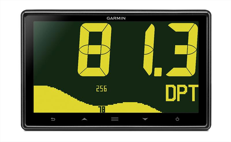 Garmin GNX 120 7-inch large format marine instrument - photo © Garmin