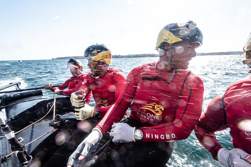 ChinaOne.Ningbo during the GC32 World Championship in Lagos, Portugal - photo © Drew Malcolm / ChinaONE.Ningbo