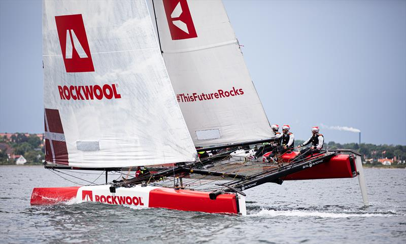 Team ROCKWOOL Racing hits Danish waters for the first time - photo © Brian Carlin / ROCKWOOL
