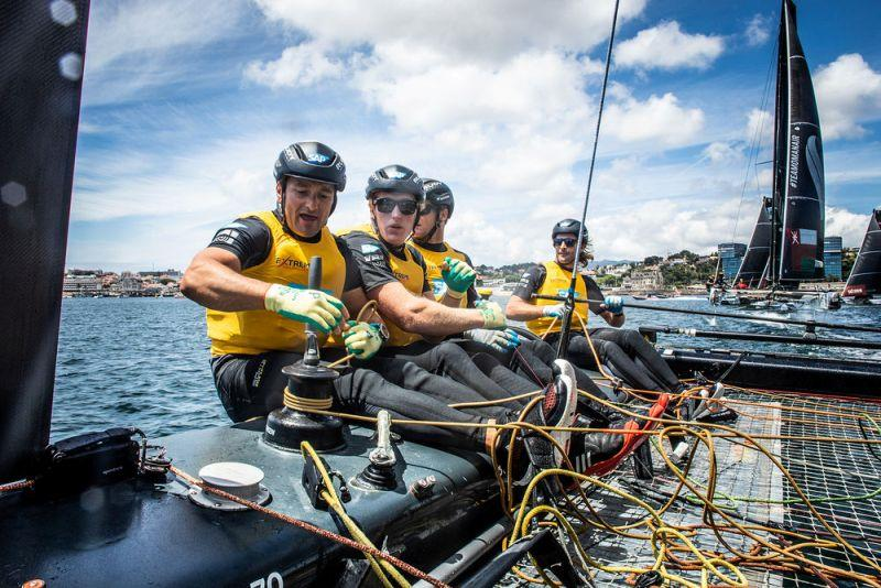 Extreme Sailing Series Act 4, Cascais 2018 - Day 1 - SAP Extreme Sailing - photo © Lloyd Images