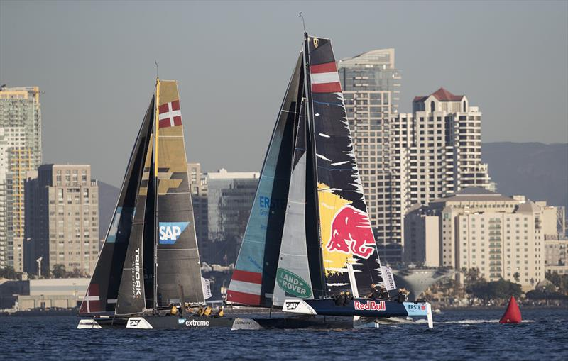 Extreme Sailing Series™ San Diego 2018 - Red Bull Sailing Team - photo © Lloyd Images