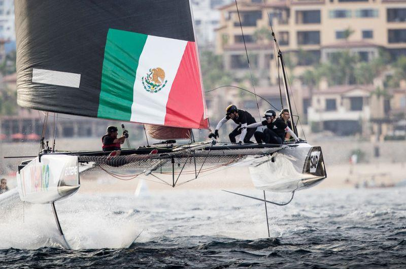 Extreme Sailing Series Act 8, Los Cabos 2017 - Day 3 photo copyright Lloyd Images taken at  and featuring the GC32 class