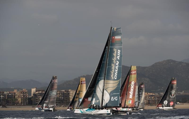 Extreme Sailing Series 2017, Act 8 - 30th November- 3rd December 2017. Los Cabos, Mexico, Cabo San Lucas Resort. - photo © Lloyd Images