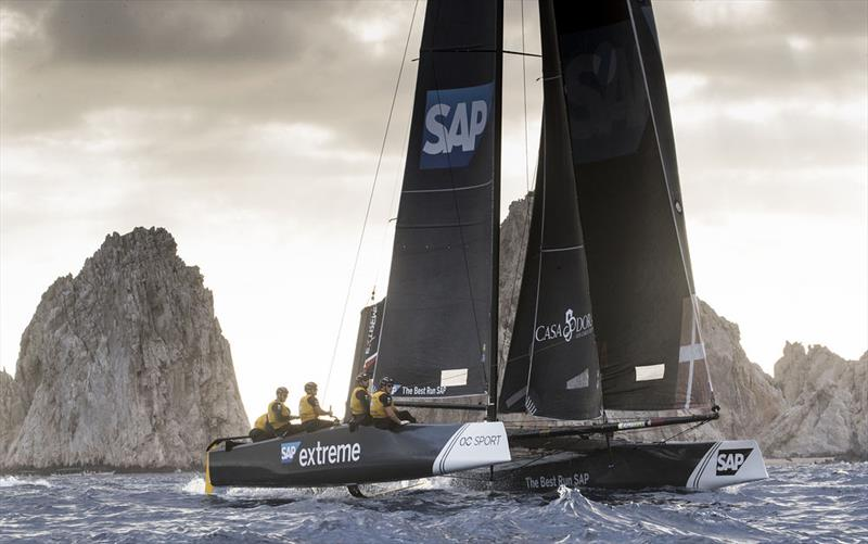 Extreme Sailing Series™ Los Cabos 2018 - Day Four - SAP Extreme Sailing Team - photo © Lloyd Images