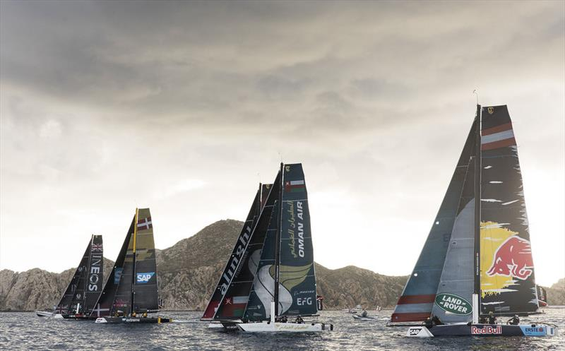 Extreme Sailing Series™ Los Cabos 2018 - Day Four - Red Bull Sailing Team - photo © Lloyd Images