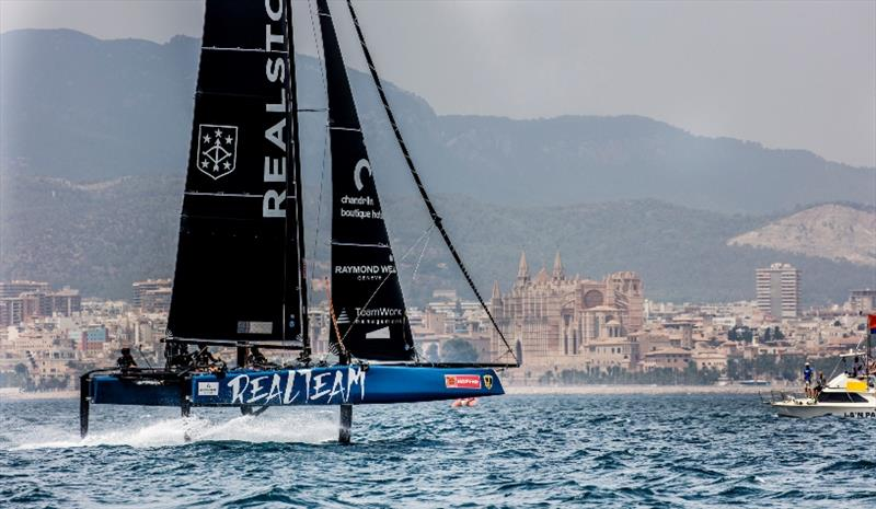 Racing at Copa del Rey MAPFRE takes place alongside other grand prix classes. photo copyright Jesus Renedo / GC32 Racing Tour taken at  and featuring the GC32 class