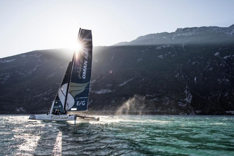 Team Oman Air racing at the GC32 2018 World Championships. - photo © Lloyd Images