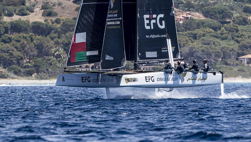 Oman Air - 2019 GC32 Racing Tour - Villasimius Cup - photo © Sailing Energy / GC32 Racing Tour