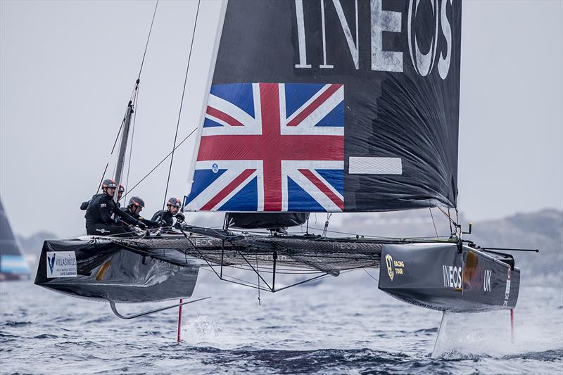 After leading today's third race, INEOS Rebels UK cleanly won the fourth - 2019 GC32 Racing Tour - Villasimius Cup - photo © Sailing Energy / GC32 Racing Tour