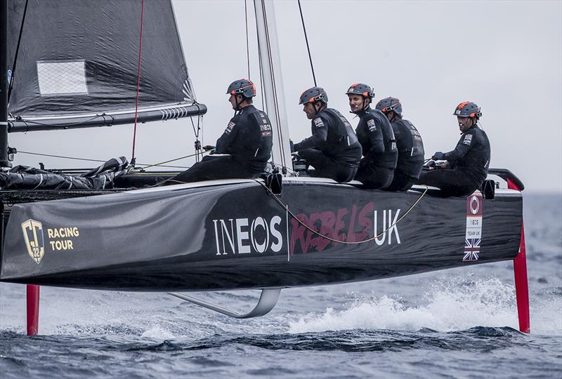 Sir Ben Ainslie and the INEOS Rebels UK team were on top form today - GC32 Racing Tour - Villasimius Cup  - photo © Sailing Energy / GC32 Racing Tour