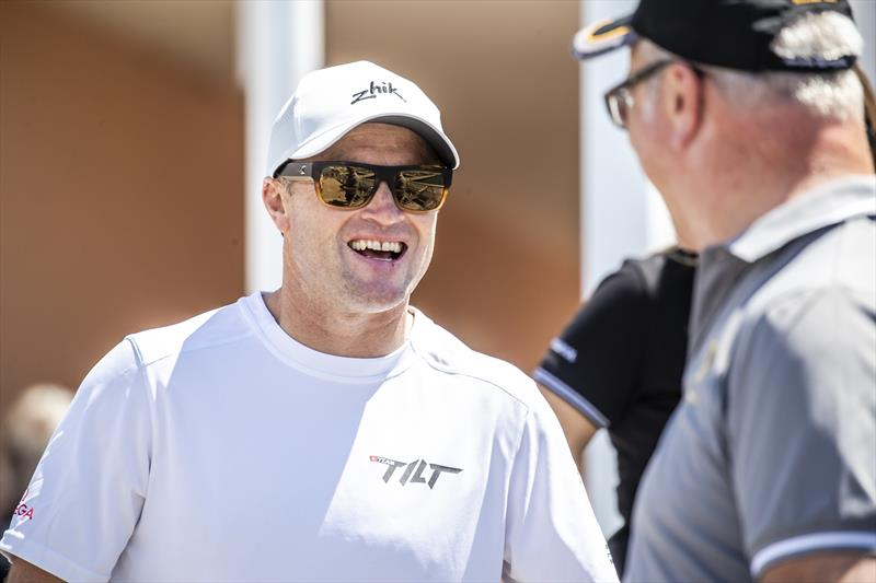 Emirates Team New Zealand skipper Glenn Ashby is racing on (defending World Champions) Team Tilt the GC32 World Championship - photo © Jesus Renedo / Sailing Energy / ISAF